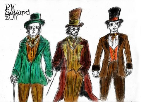 Victorian costumes design by PMSAVARD