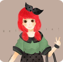 Hello by lynchees