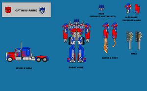 Optimus Prime by CosbyDaf