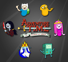 DOWNLOAD:  Adventure Time Icon/Smiley Pack by akapantsu