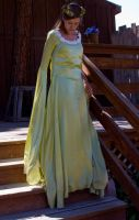 Elven Wedding Gown drape by princesshyrule