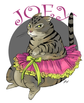 Joey in Draw your cat in a dress Day by Kyuketsuki-Vain