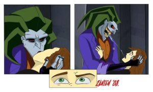 Joker and Xack kiss by Zanten