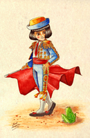 Pepito the Matador by Lord-Aragoon