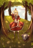 red riding hood by Rmblee