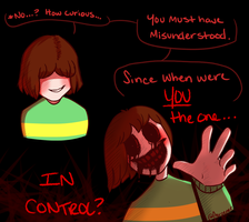 Who's in Control? (Undertale Genocide Spoiler) by Charpener