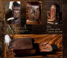 Belt bag of keepers of knowledge by Aetherwerk