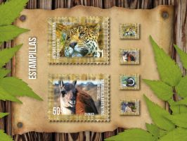 Estampillas | Stamps by cristiandrawing