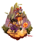 30 Years of Dragonball by dkirbyj