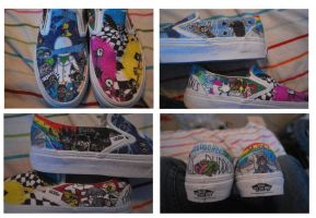 Homestuck shoes Finished by Hatsune-Miku01