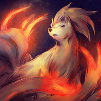 Ninetails by Marraphy