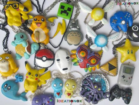 OMG! Ze charms! Ze so many charms!  o_o by Ideationox