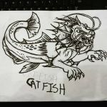 Catfish (Monsterous) by Tibby101