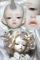 BJD Face Up -Soom MD Shale by Izabeth