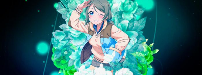 Watanabe You Timeline Cover by TheHentaiMaster
