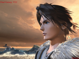 Squall from Final Fantasy 8 by AuraIan