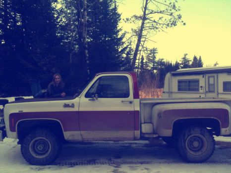 Me and Tom's Truck by 2meSushi