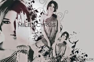 MILEY CYRUS by xGolden-Halox