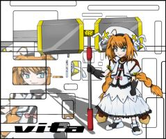 unison vita +nanoha strikerS+ by vatenkeist