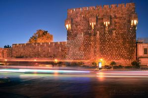 Damascus Castle by ashamandour