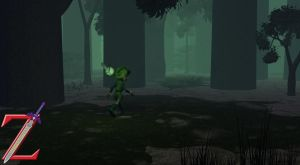 Saria's Walk Through the Woods by HeroofTime123