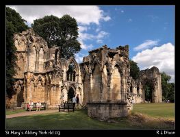 St Mary's Abbey York rld 03 DA by richardldixon