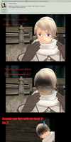 Ask Russia: Question2 - Food vs Scarf? by MMD-AskRussia