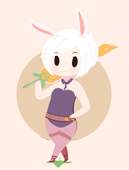 Bunny Riven by AyyScorchy