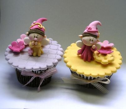 Fairies - cupcakes by anafuji