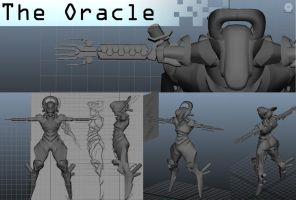 Oracle 3D by Shady-Rogue