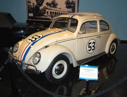 Herbie The Love Bug 1963 VW by Partywave