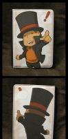 Professor Layton and the Case for Kindle by zillabean