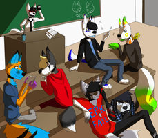 Pay Attention in the Classroom by CrystalRoseMoon
