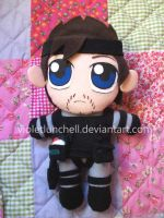 Solid Snake plushie ver.4 by VioletLunchell