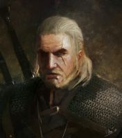 Fan art Witcher 3 by Kalberoos