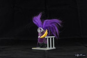 [Garage kit painting #03] Evil Minion statue - 008 by DasArt