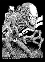 Pumpkinhead by BryanBaugh