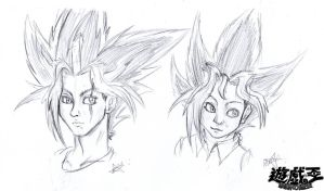 Yami and Yugi - realist by Maryenne042