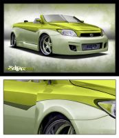 scion tc gb customs by SurfaceNick