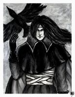 The Raven King by Lena-Hyena