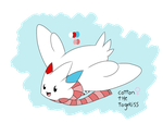 Cotton The Togekiss by LauraTheKitty