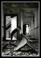 the chair in the hall by statlernerd