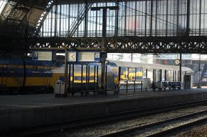 Amsterdam Central Station by 001011011