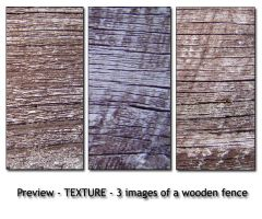 - TEXTURE - old wooden fence by Von-Chan