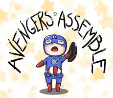 AVENGERS ASSEMBLE by fruits-basket-head