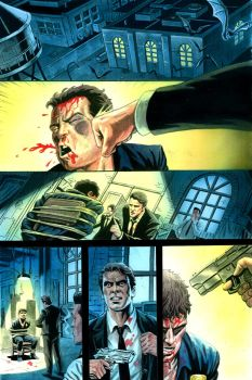 Batman Meets the Reservoir Dogs_Colour_Pg1 by Habjan81