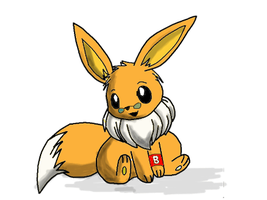 Alex the Eevee by Artooinst