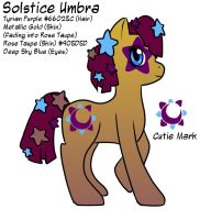 MLP - Solstice Umbra Profile FIN by Wildnature03