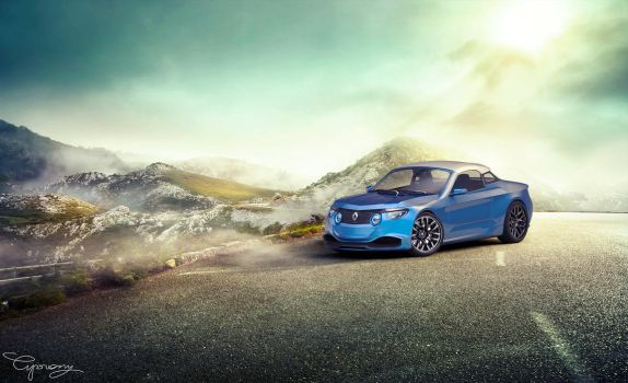 Renault 8 Gordini - concept V2 - 7 by cipriany