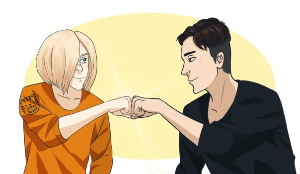Yura and Otabek by Lynlann